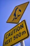 Pinguins ostrożność, Nelson Nowa Zelandia Obraz Royalty Free