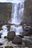 Pingvellir è un sito dei sig storici, culturali e geologici Immagini Stock Libere da Diritti