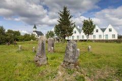 Pingvellir στην Ισλανδία Στοκ φωτογραφίες με δικαίωμα ελεύθερης χρήσης