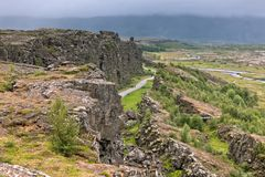 Pingvellir national park, Iceland Royalty Free Stock Image