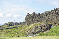 Pingvellir National Park, Iceland Royalty Free Stock Image
