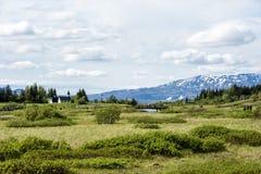 Pingvellir National Park, Iceland Stock Photography