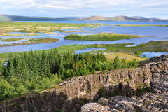 Pingvellir national park in Iceland Stock Photo