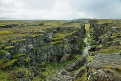 Pingvellir national park in Iceland Royalty Free Stock Photos