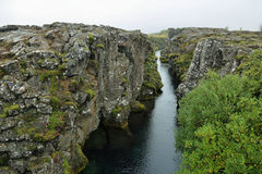 Pingvellir national park in Iceland Royalty Free Stock Images