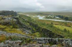Pingvellir national park in Iceland Stock Image