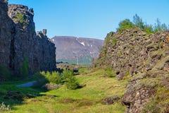 Pingvellir National park in Iceland Royalty Free Stock Image