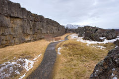 Pingvellir National Park Royalty Free Stock Images