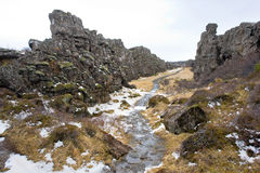 Pingvellir National Park Royalty Free Stock Image