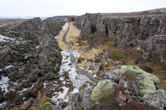 Pingvellir National Park Royalty Free Stock Photos