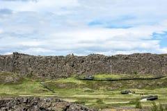 Pingvellir Nationalpark, Island stockbilder