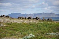 pingvellir naturpark стоковое изображение rf
