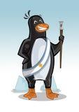 Pingvinargentinarepresidenten Arkivbild
