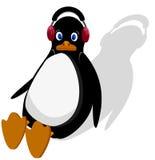 Pingvinet är sammanträde Arkivfoton