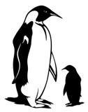 pingvinvektor Fotografering för Bildbyråer