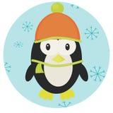 Pingwin ikony app wisząca ozdoba ilustracji