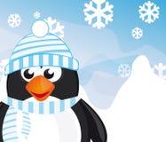 Pingwin kreskówka Fotografia Stock