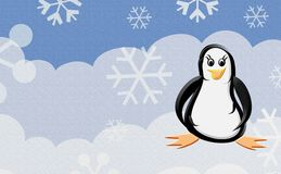 pingwin mały Zdjęcia Royalty Free