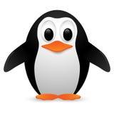 Pingwin również zwrócić corel ilustracji wektora Obrazy Stock