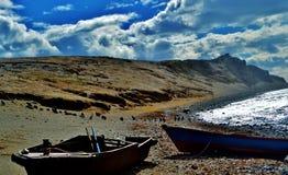 Pingwin ziemia Zdjęcie Royalty Free