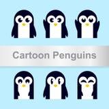 Pingwinu wektorowy projekt royalty ilustracja