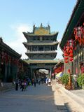 Город Pingyao стародедовский Стоковое фото RF