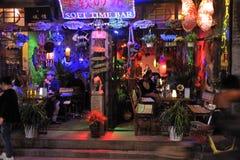 Pingyao antyczny miasto mały biznes zdjęcia royalty free