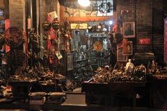 Pingyao antyczny miasto mały biznes obraz royalty free