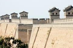 Pingyao city wall. Shanxi province, China Stock Photo