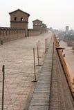 Pingyao city walls, China Royalty Free Stock Images