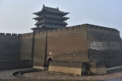 Pingyao north gate Royalty Free Stock Photos