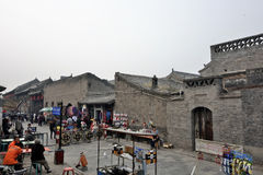 Pingyao oude stad Stock Foto's
