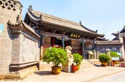 Pingyao plats-län Yamen-ancientry regeringen av länder i Kina arkivfoton
