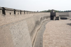 Pingyao's Ancient City Wall stock photos