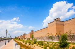 Pingyao scene-City wall Royalty Free Stock Images