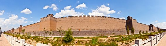 Pingyao scene-City wall royalty free stock photography