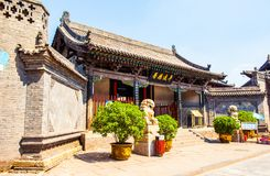 Pingyao scene-County Yamen-ancientry the government of countries in China stock photos