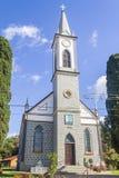 Pinhal Alto Church en Nova Petropolis Image stock