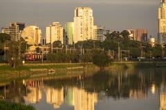 Pinheiros-Fluss Stockbilder