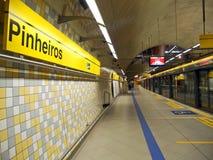 Pinheiros Station Stock Photography