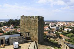 Pinhel – Castle South Tower royalty free stock photography