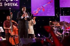 Pinho de Courtney, festival 2009 de Koktebel do jazz Imagem de Stock Royalty Free