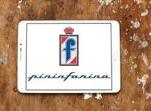 Pininfarina car designer company logo. Logo of Pininfarina car designer company on samsung tablet. Pininfarinais an Italian car design firm and coachbuilder in Royalty Free Stock Photos