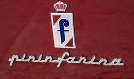 Pininfarinaembleem Stock Foto