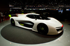 Pininfarinah2 Snelheid in Genève 2016 Stock Afbeelding