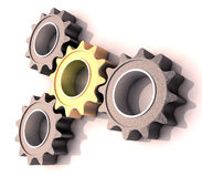 Pinion gear Royalty Free Stock Photography