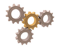 Pinion gear Royalty Free Stock Photos