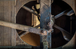 The pinion gear of an old mechanical device Royalty Free Stock Photography