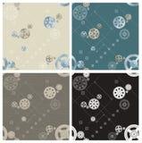 Pinion seamless patterns Stock Photography