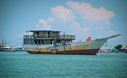 Pinisi Board Cruise Royalty Free Stock Photos